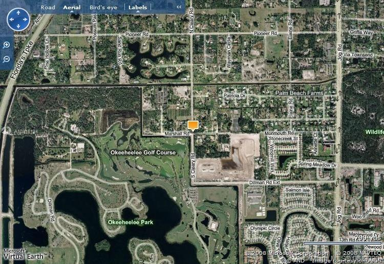 OVER 6 ACRES OF LAND NEXT TO OKEEHEELEE GOLF COURSE ON THE CANAL  EAST OF THE TURNPIKE!!! GREAT DEAL