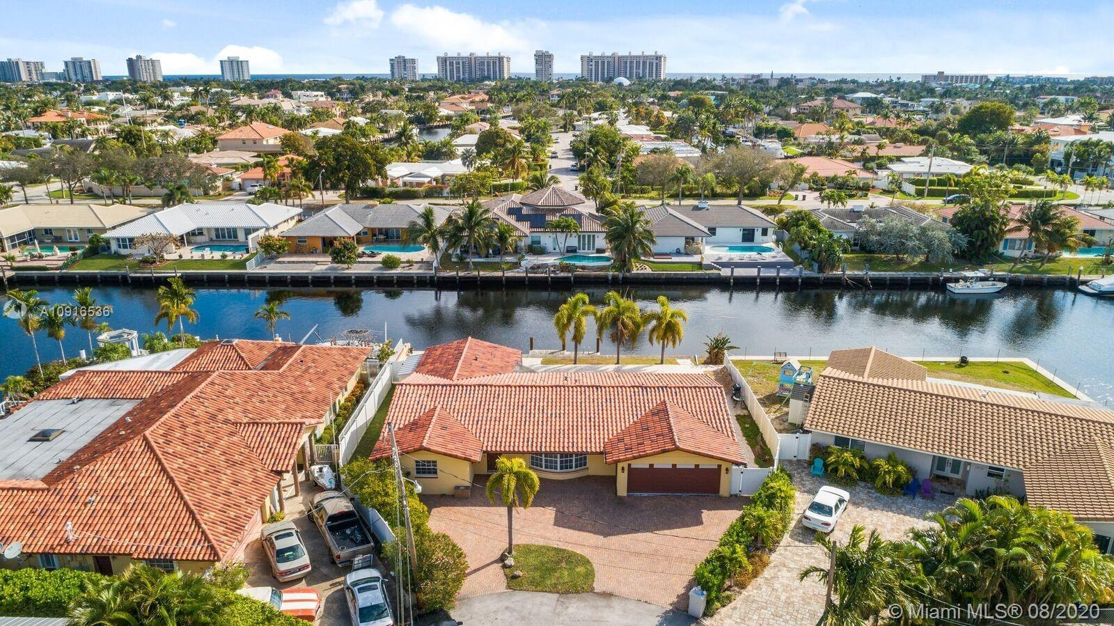THIS STUNNING OCEAN ACCESS WATERFRONT POOL HOME WITH DOCK IN THE HIGHLY DESIRED AREA OF FORT LAUDERD