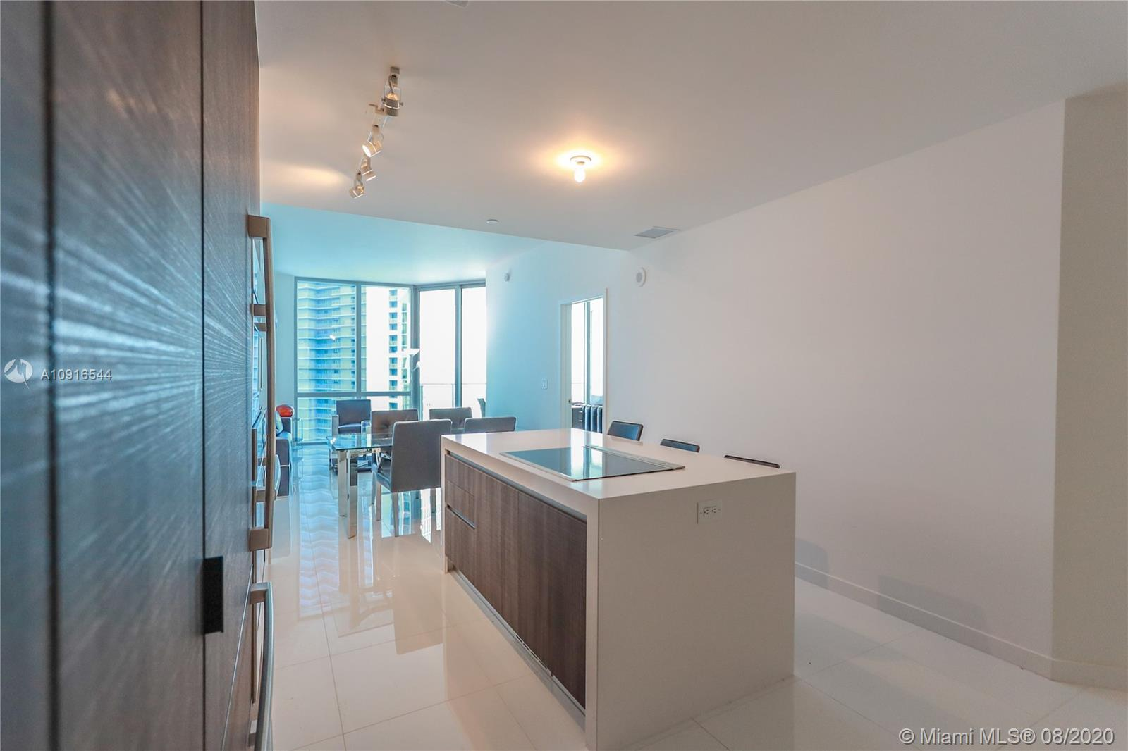 The best 3-4 bedrooms line at Paramount Miami World Center building with water and city views. Live,