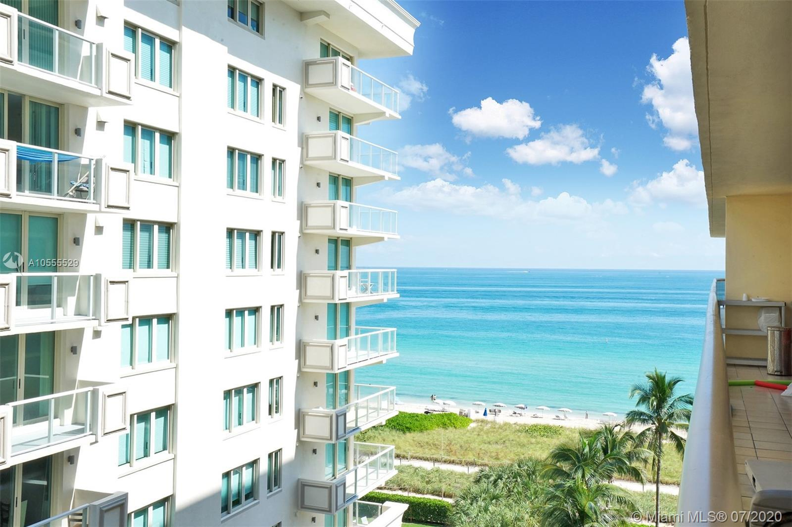 Live right on the beach in this spacious 2 bedroom, 2 bathroom waterfront unit at The Waves in Surfs
