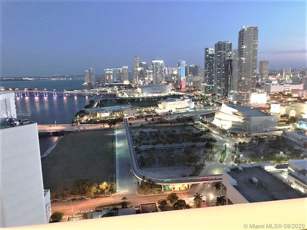PENTHOUSE two bedroom / two bath condo available now. Enjoy the breathtaking views of Biscayne Bay ,