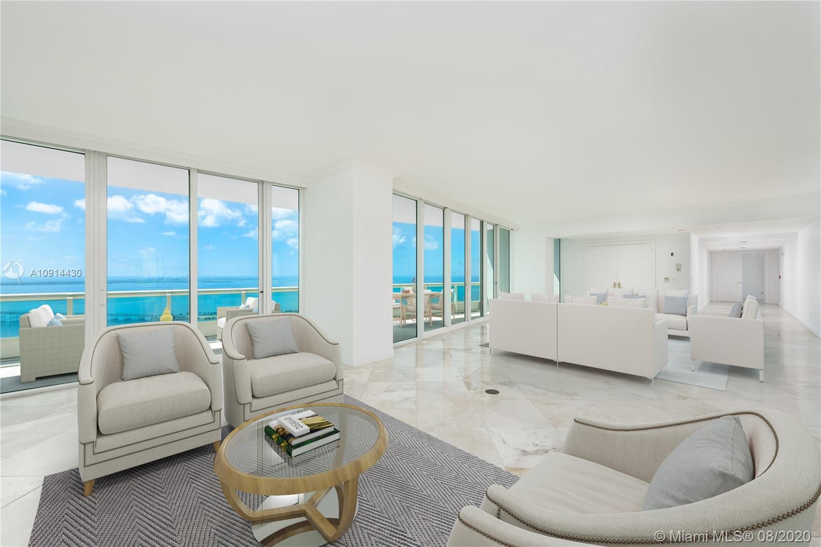Situated atop the prestigious, full-service, white-glove Santa Maria, this spectacular 6,300 SqFt li