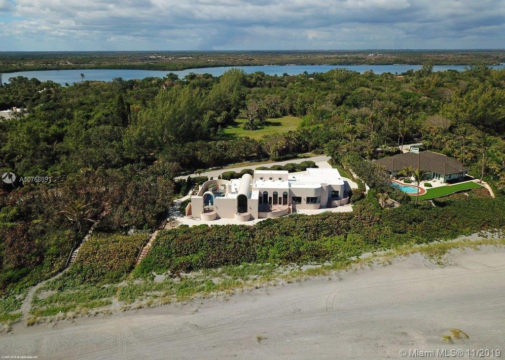 This architectural beauty features a unique perspective of oceanfront living. Thoughtfully built wit