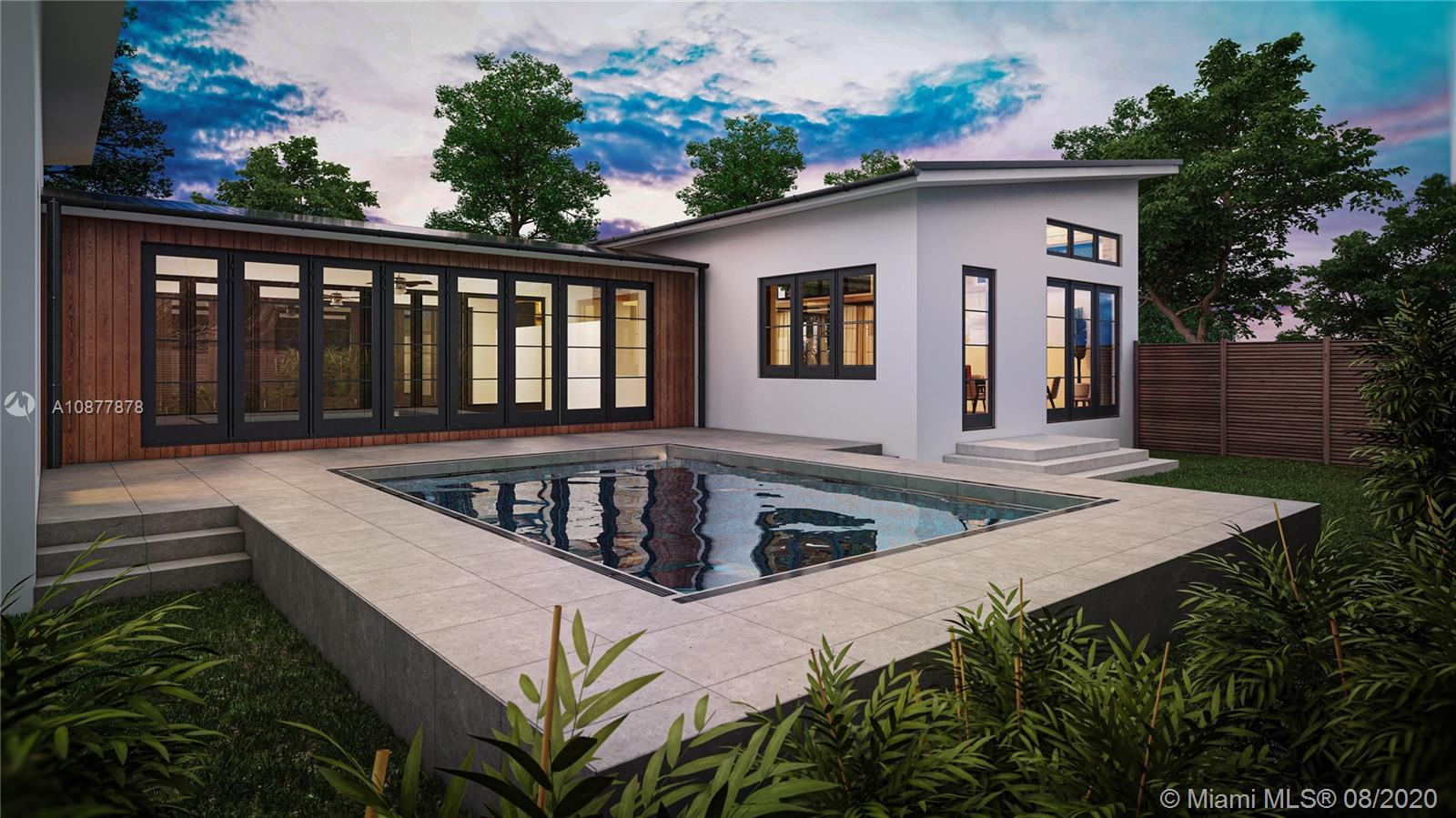 STRIKING, LUXURIOUS, and ICONIC. The Dwell House Miami Shores is under construction as the newest de