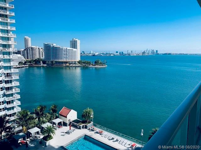 Beautiful completely renovated 3 bedrooms with amazing views overlooking Biscayne Bay. High-end kitc