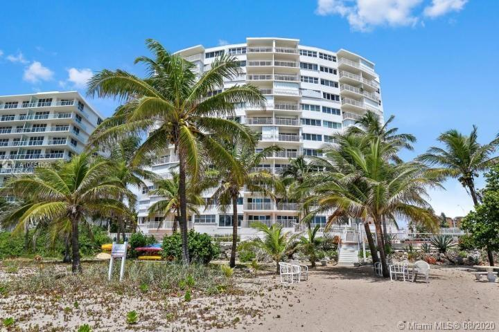 BEACHFRONT LIVING DELIVERED | Great Opportunity on a 1-bedroom, 1-bath Penthouse Corner Unit! The Br
