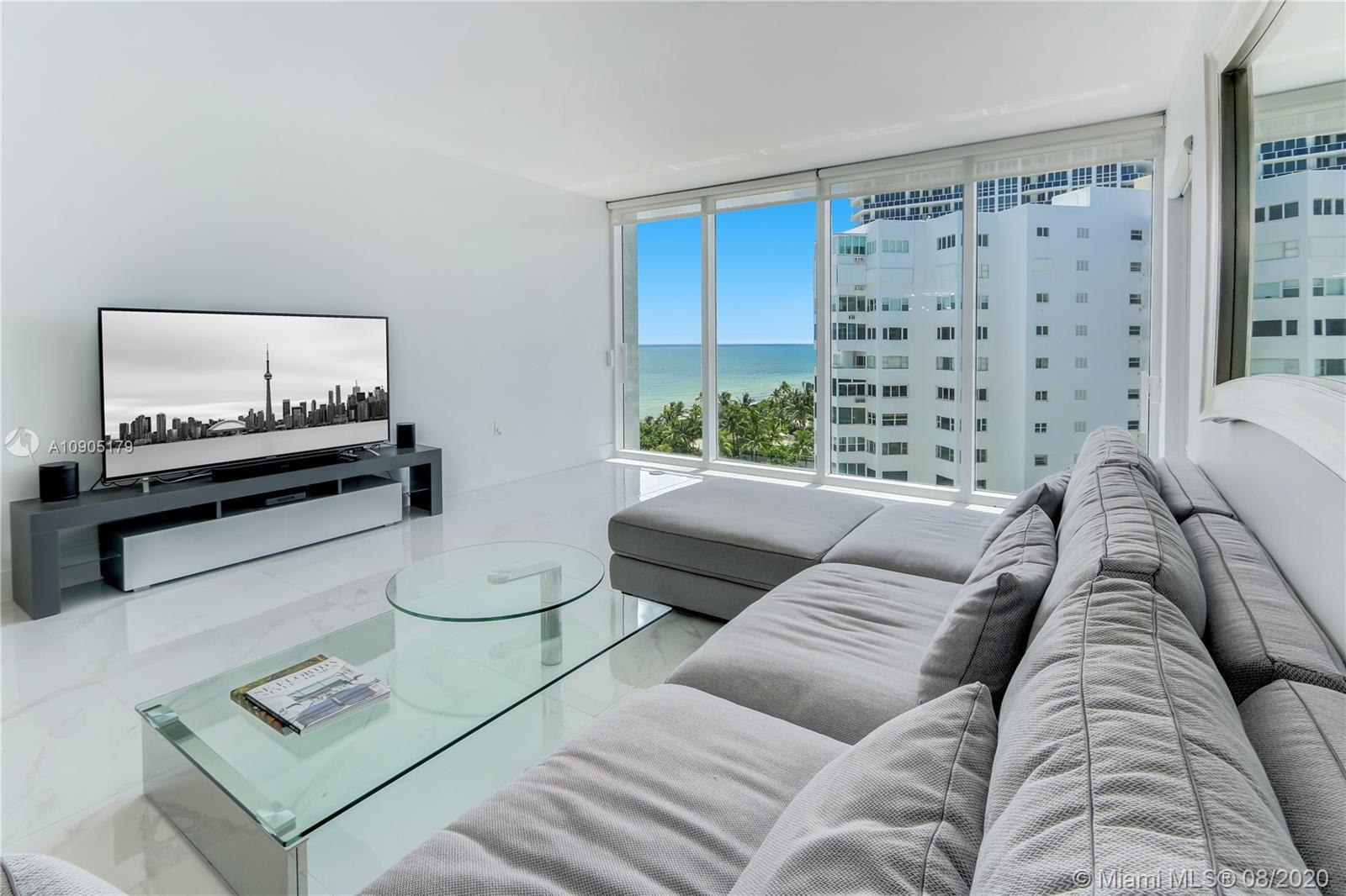Welcome home to the prestigious Harbour House in Bal Harbour.  This amazing, almost 900 square foot,