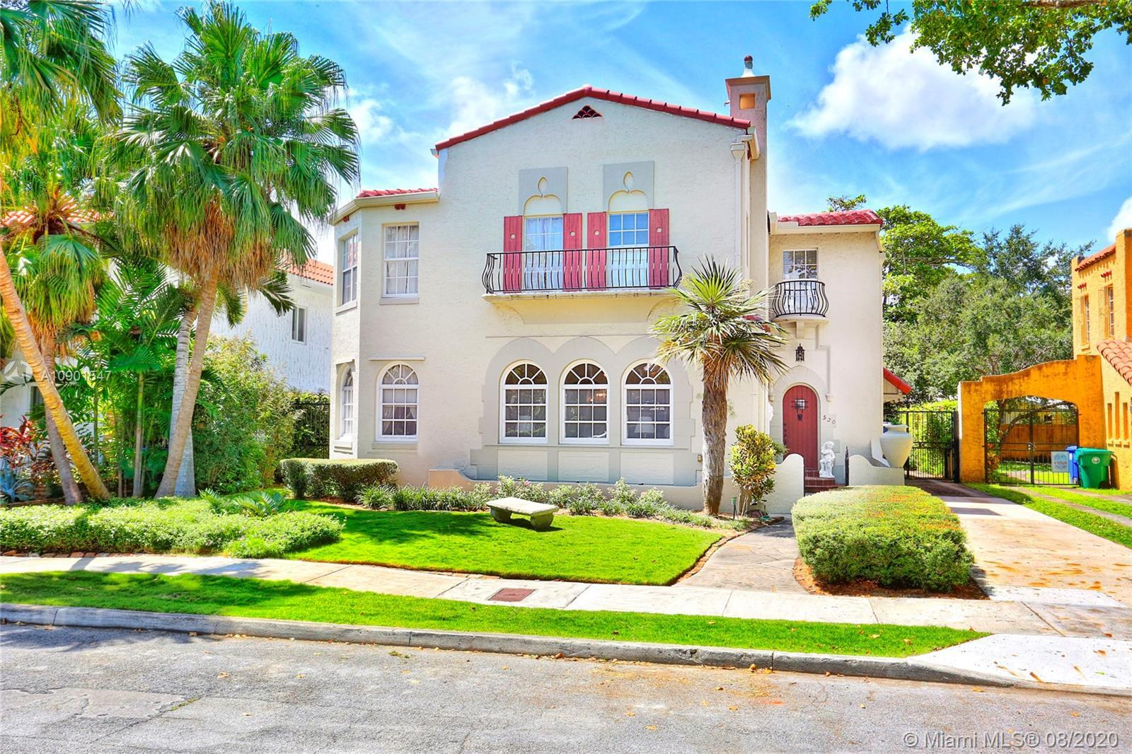 RARE TO MARKET. One of Historic Morningside's grandest pre-war old Spanish masterpieces. Built in 19