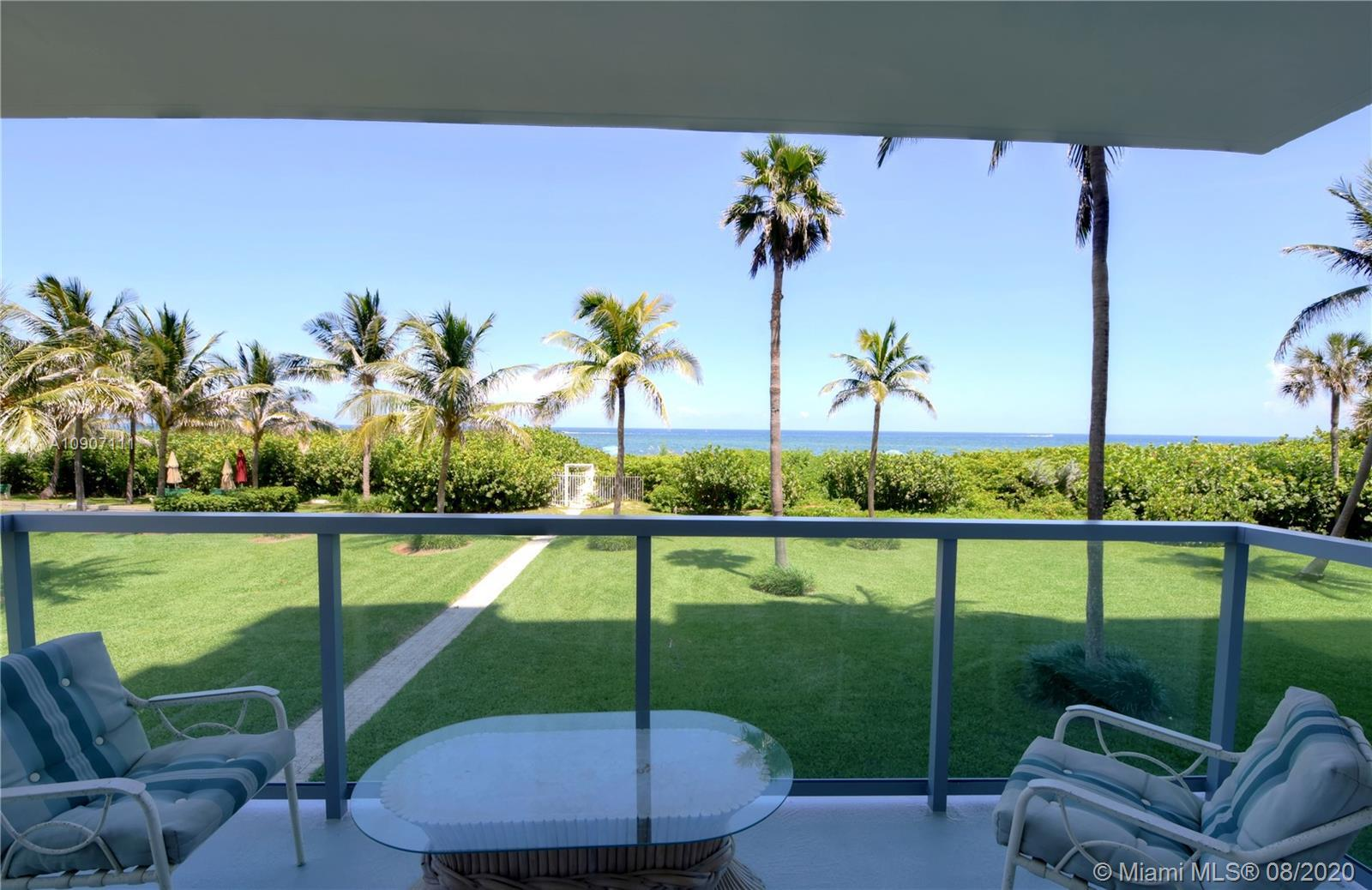 Stunning Direct ocean views including the Hillsboro Lighthouse Inlet from this 2/2 corner unit!! A v