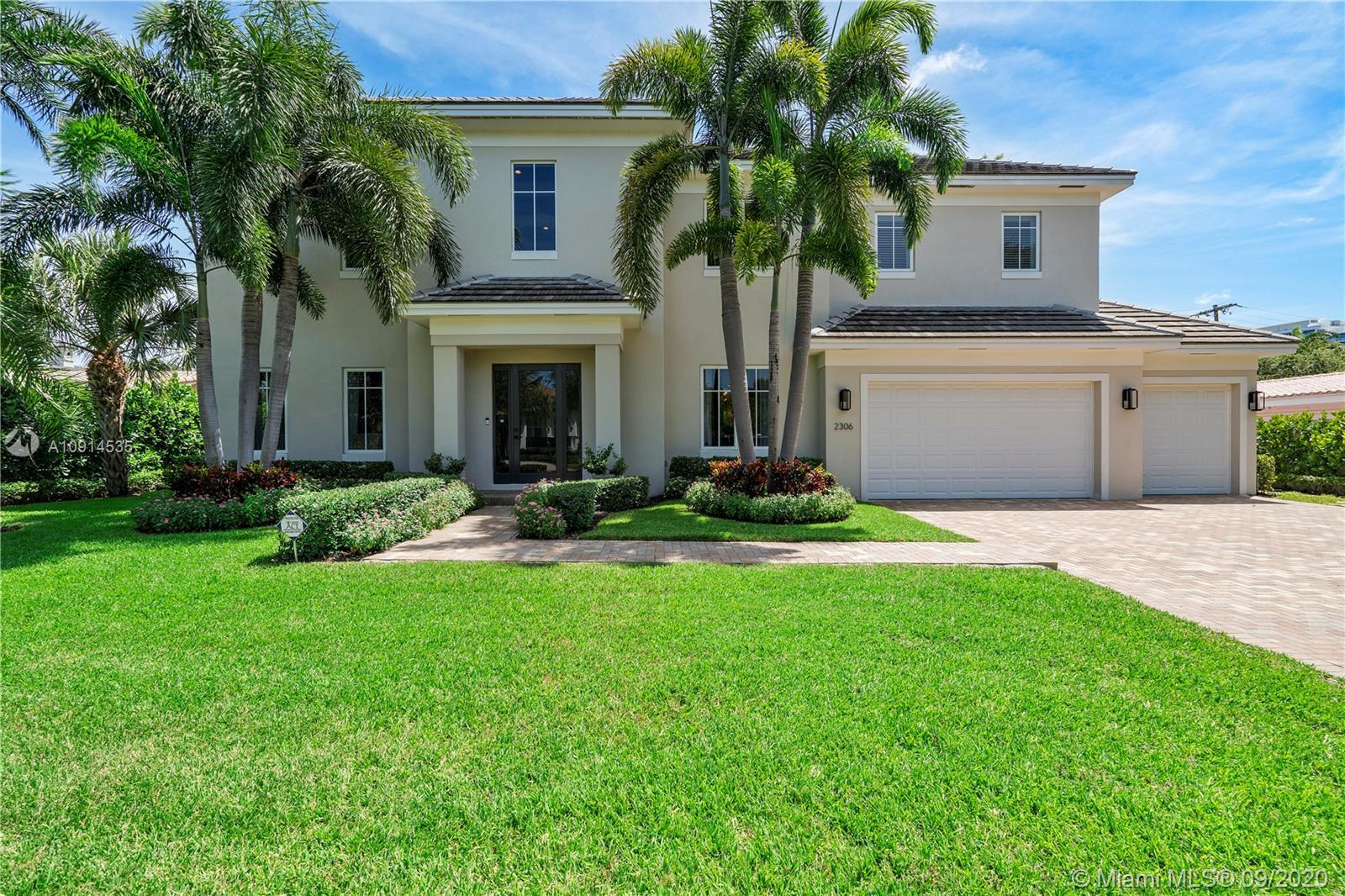 Custom Built In 2017 Beautiful 2 Story 5 Bed, 5.5 Bath Pool Home W/3 Car Garage Located In Coral Rid