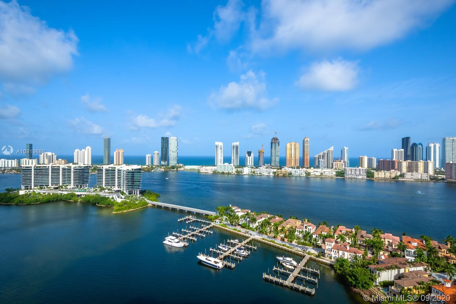 Aventura -Williams Island 7000 Tower High Floor #3009 rarely available 2730sqft Two bedroom + office