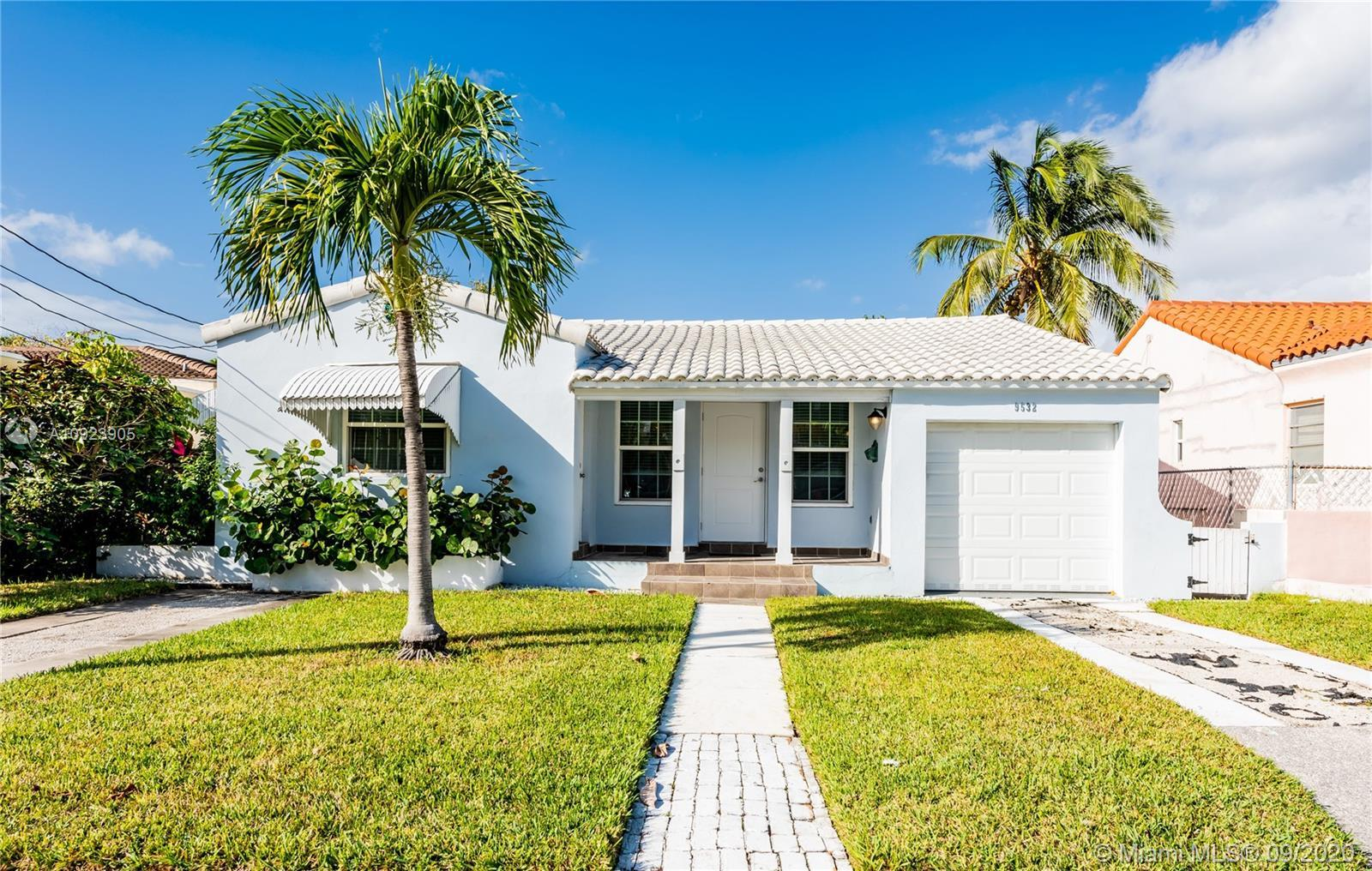 Totally remodeled home, plumbing, electricity, floors, bathrooms....Charming 3/2 with a one car gara
