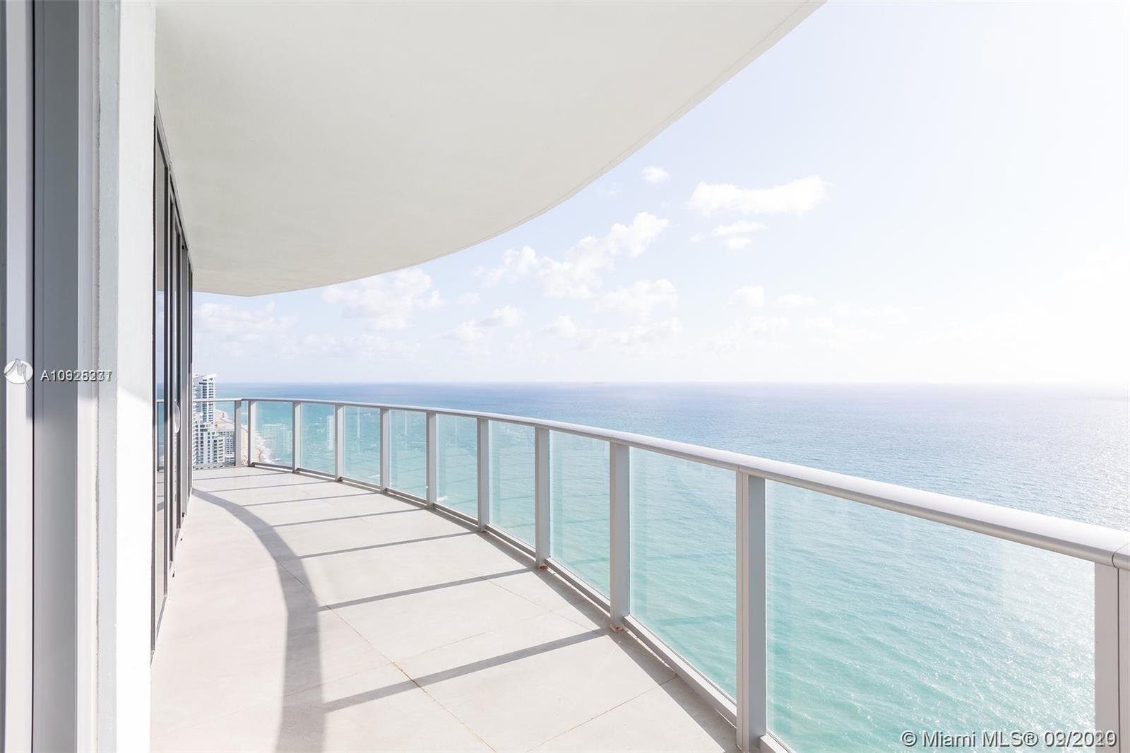 Direct Ocean views from this stunning 3 Bedroom 3 Baths residence corner unit at Hyde Resort & Resid
