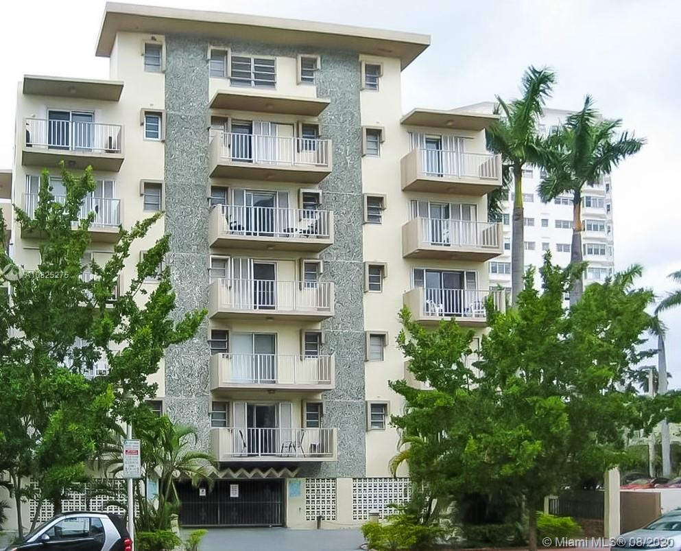A Newly Remodeled property that's only blocks away from the beach and the famous shops/restaurants on Lincoln Road. This is spacious unit featuring 2 Bedroom, 1 Bathroom and a balcony. This unit has had the full treatment with new floors, kitchen, bathrooms and more. This is a 55+ Community and garage parking.