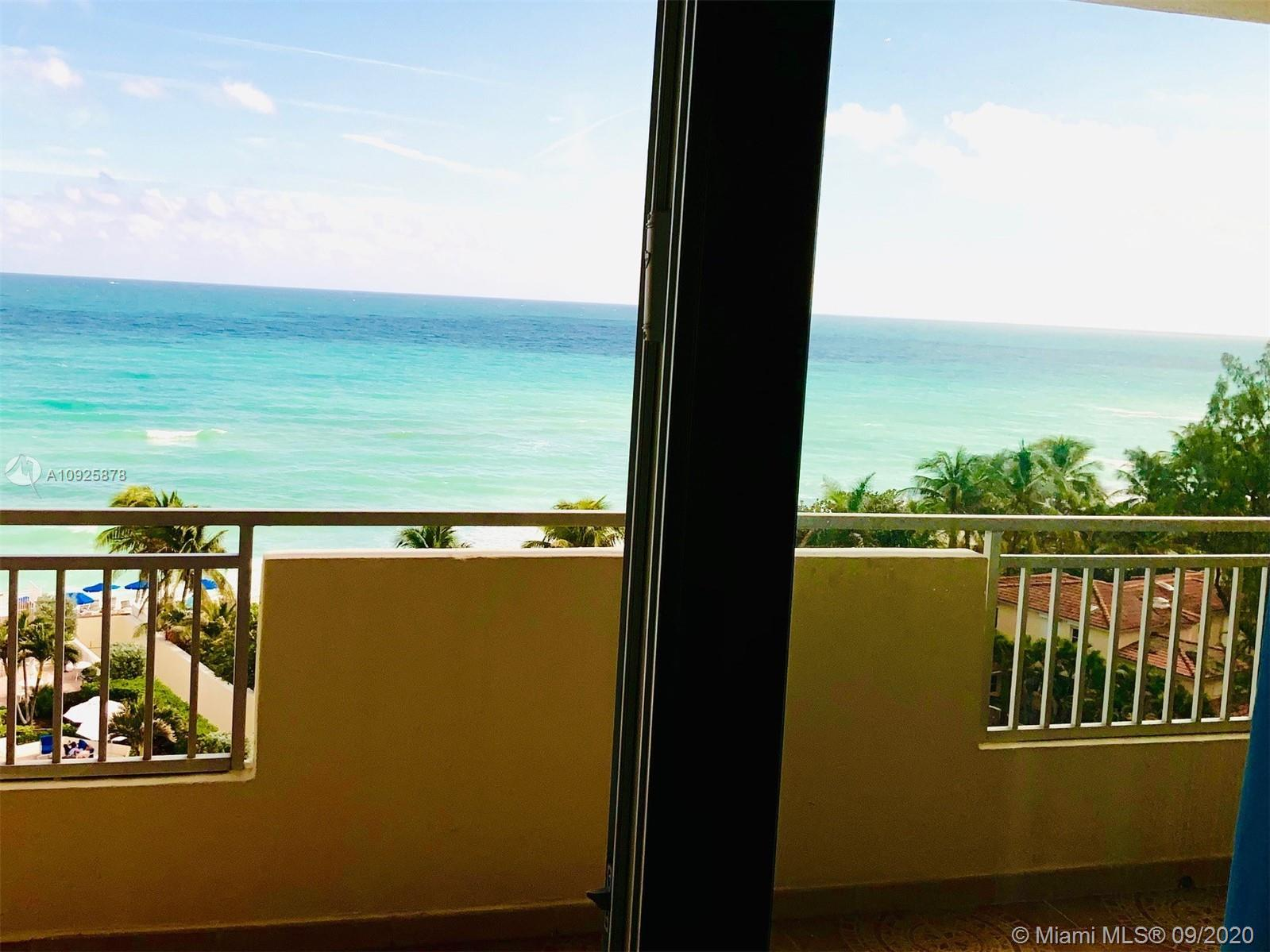 Direct Ocean view 1 bed room with 2 full bathrooms Completely Remodeled apartment with open Kitchen
