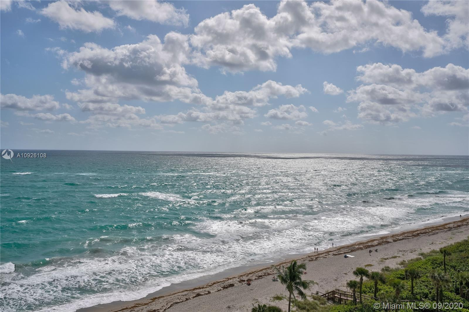 Fully Furnished upper floor renovated condo in coveted 400 building - possibly the best Ocean & Jupi