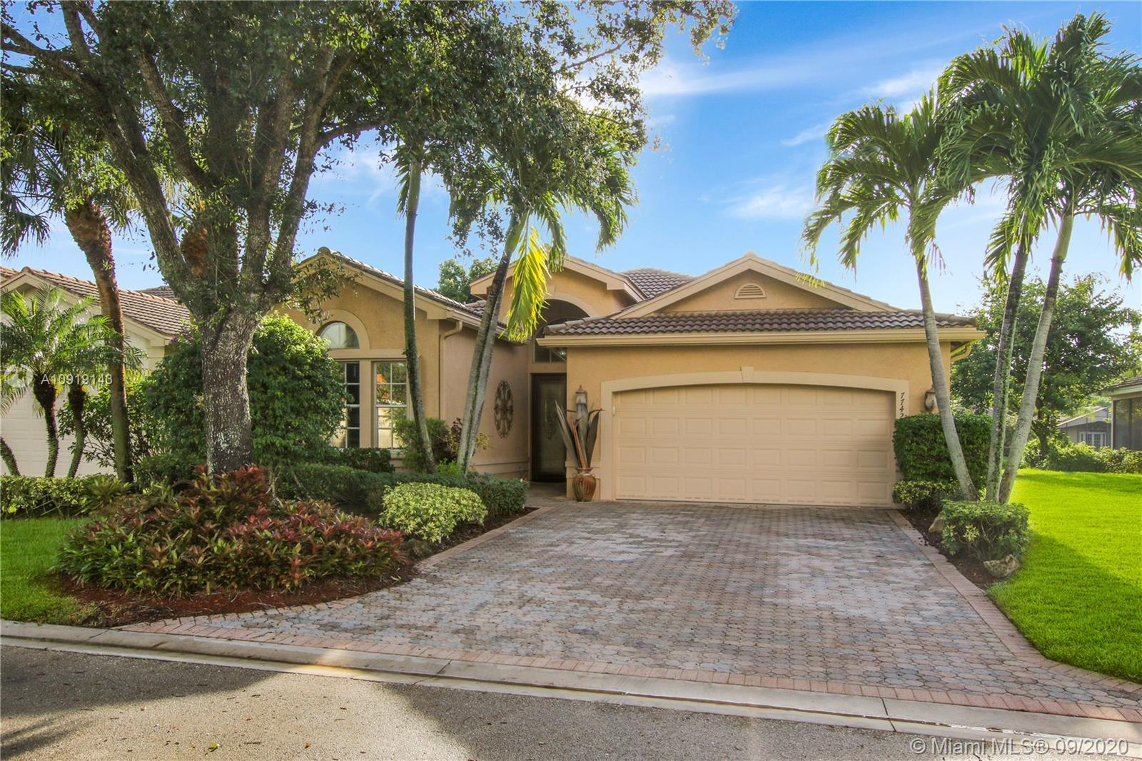 IMMACULATE 3BD/2BA MEDITERRANEAN (2077 SF) MODEL IN RESORT STYLE 55+VALENCIA SHORES. MAGNIFICENT HIG