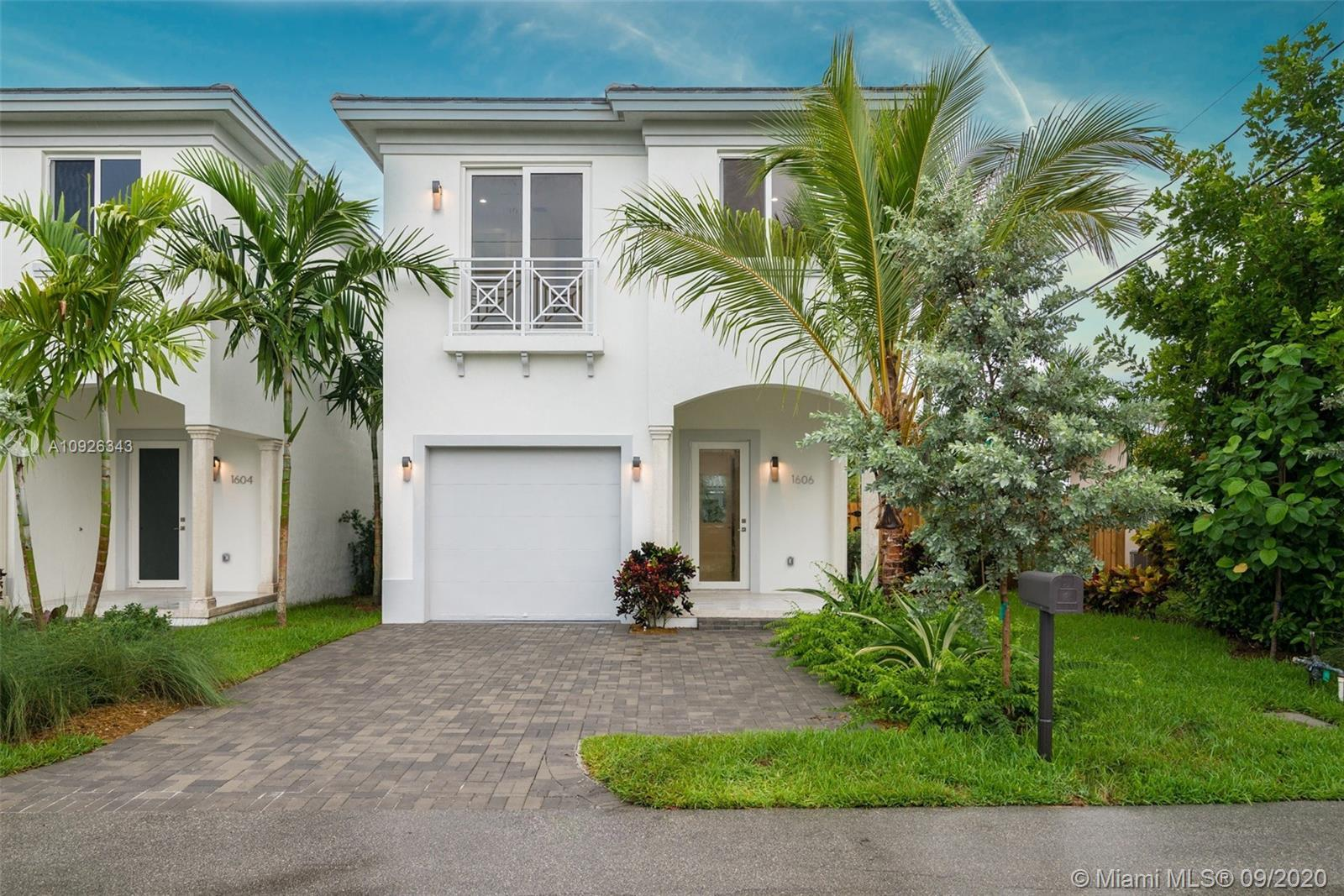 2020 New Construction East Hollywood Pool Home! Features 1,884 sqft Liv Area, 4 bedroom 3.5 bathroom