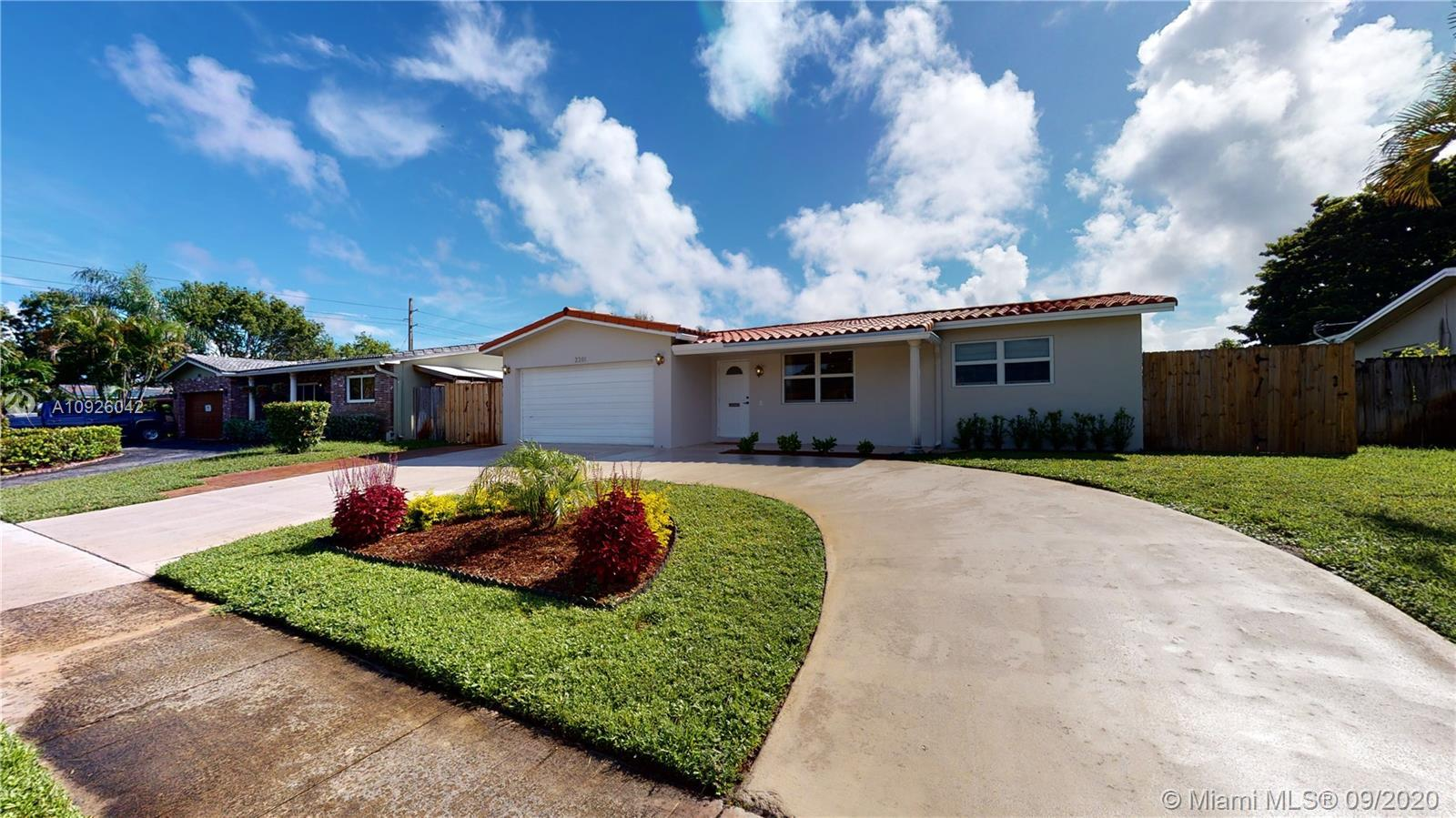 This truly turn key home will wow you from the moment you pull in to the driveway! Freshly painted a