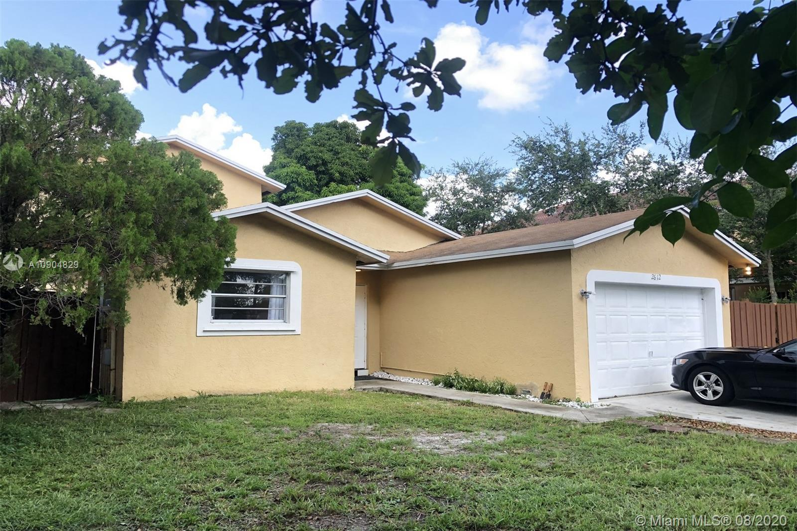 Beautifully remodeled single-family home in Hollywood with great rental potential. This 4 bedroom an