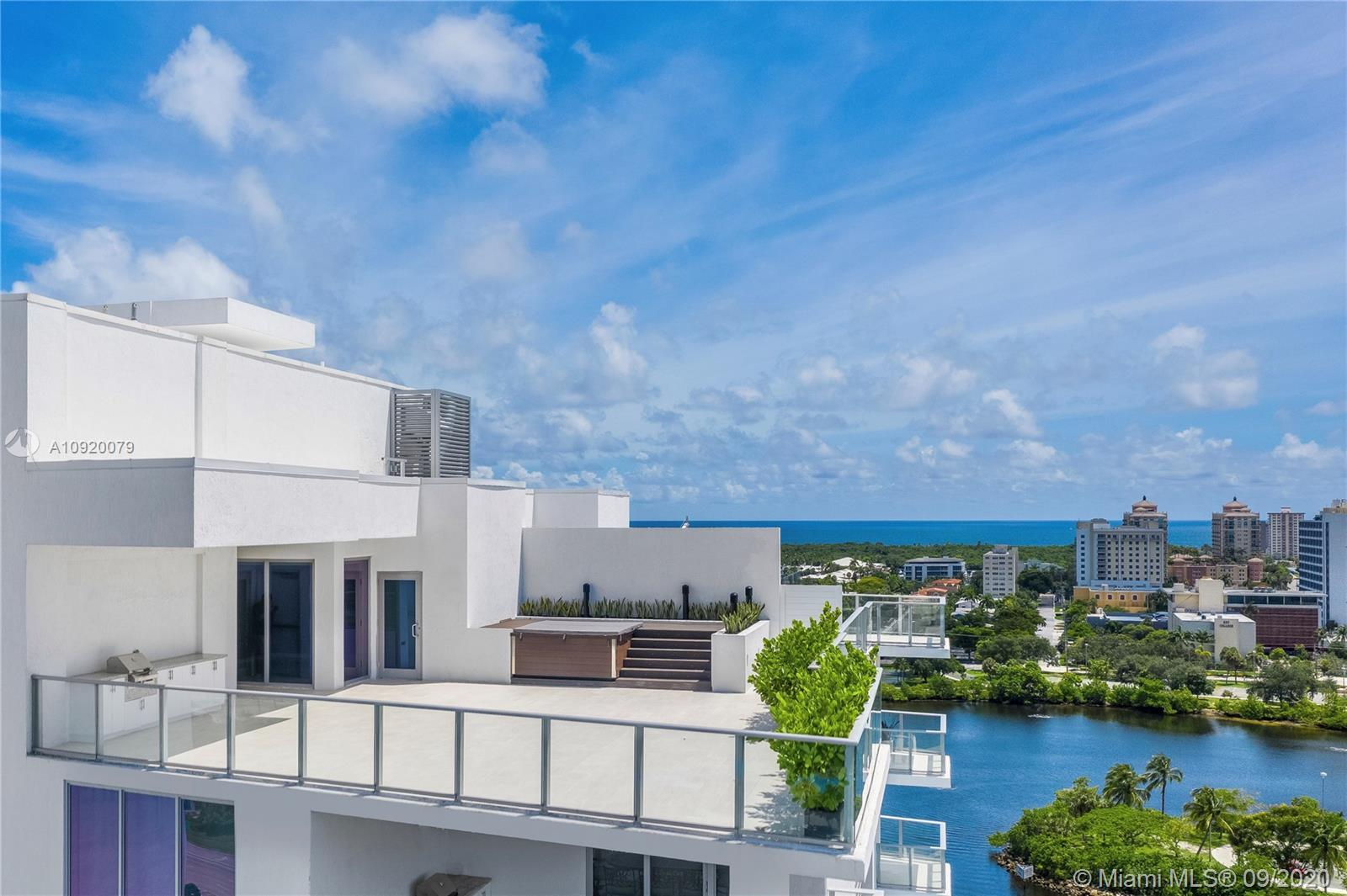 One of Fort Lauderdale's Most Spectacular Penthouses Now Complete & Move-In Ready | 7,200+ Total Sq
