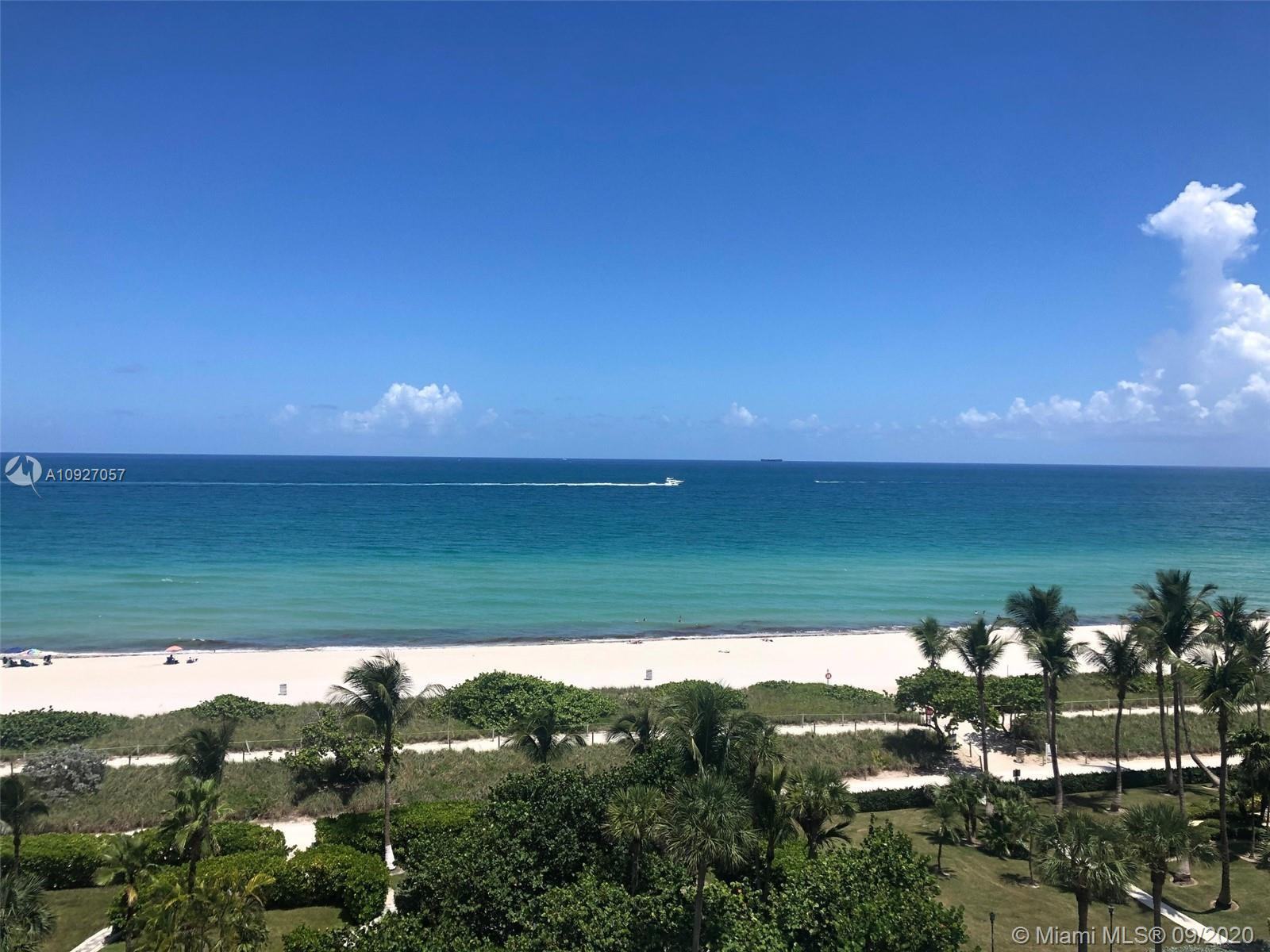 Direct Oceanfront residence sitting on the sand in the unique town of Surfside for $402/sq ft! Only