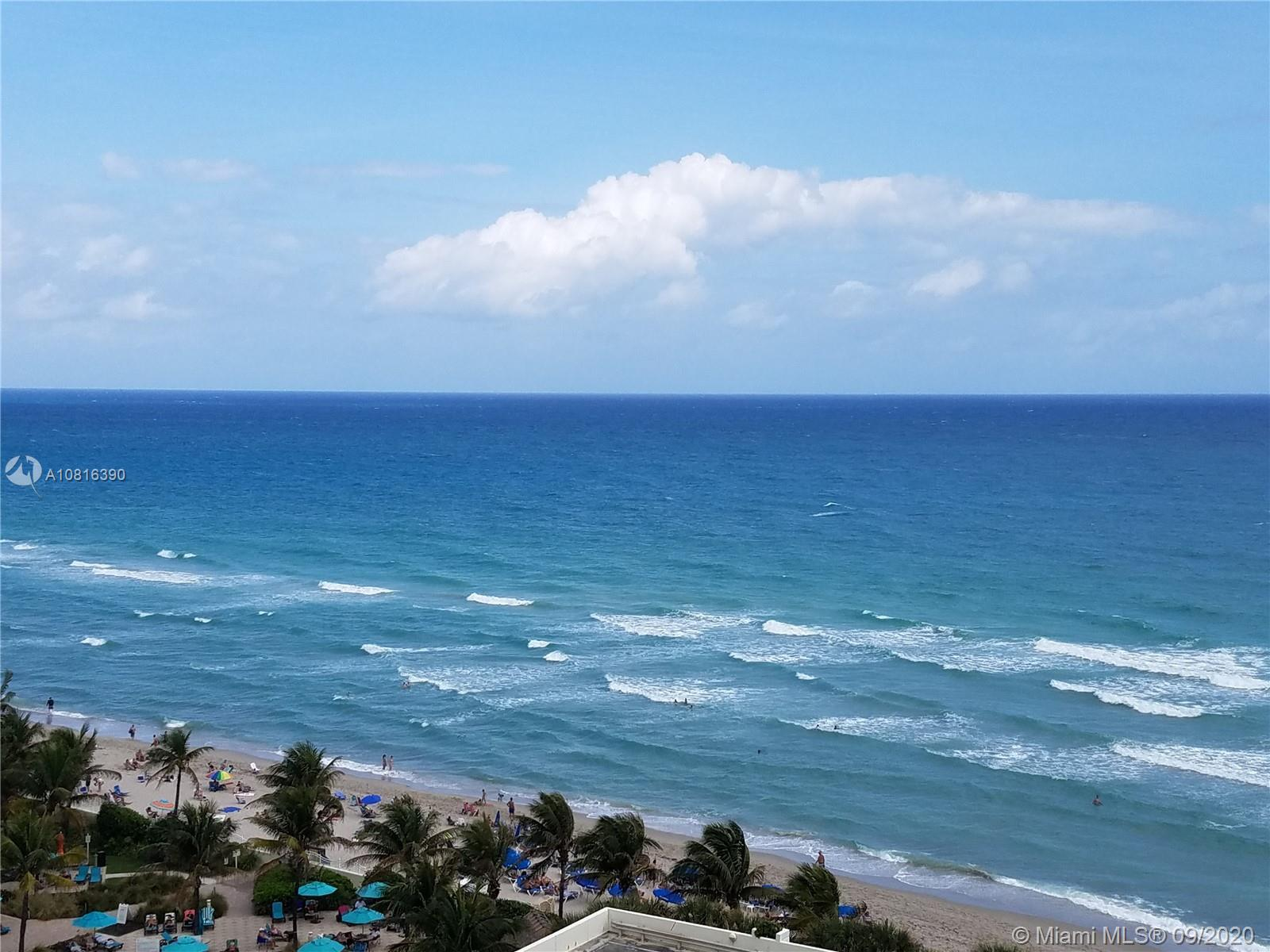 Oceanfront building; direct ocean view and beach view; unit completely furnished; state of the art a