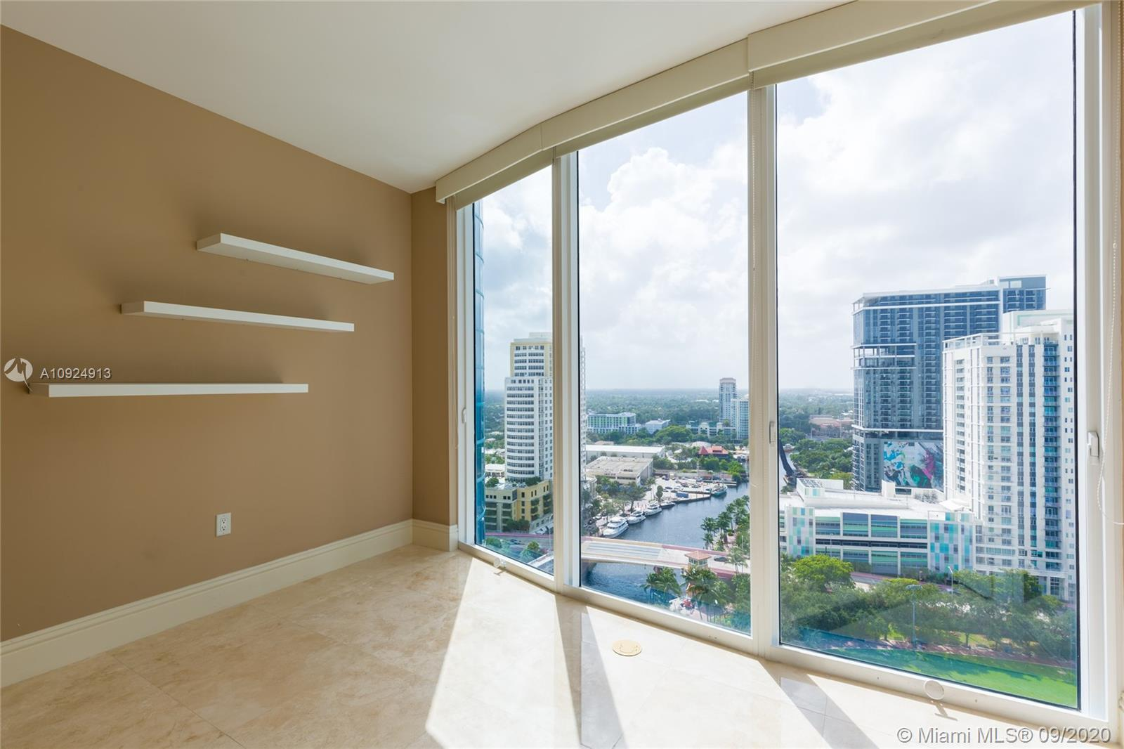 Welcome to your perfect urban riverfront home in Ft Lauderdale's landmark tower.  Located on the New