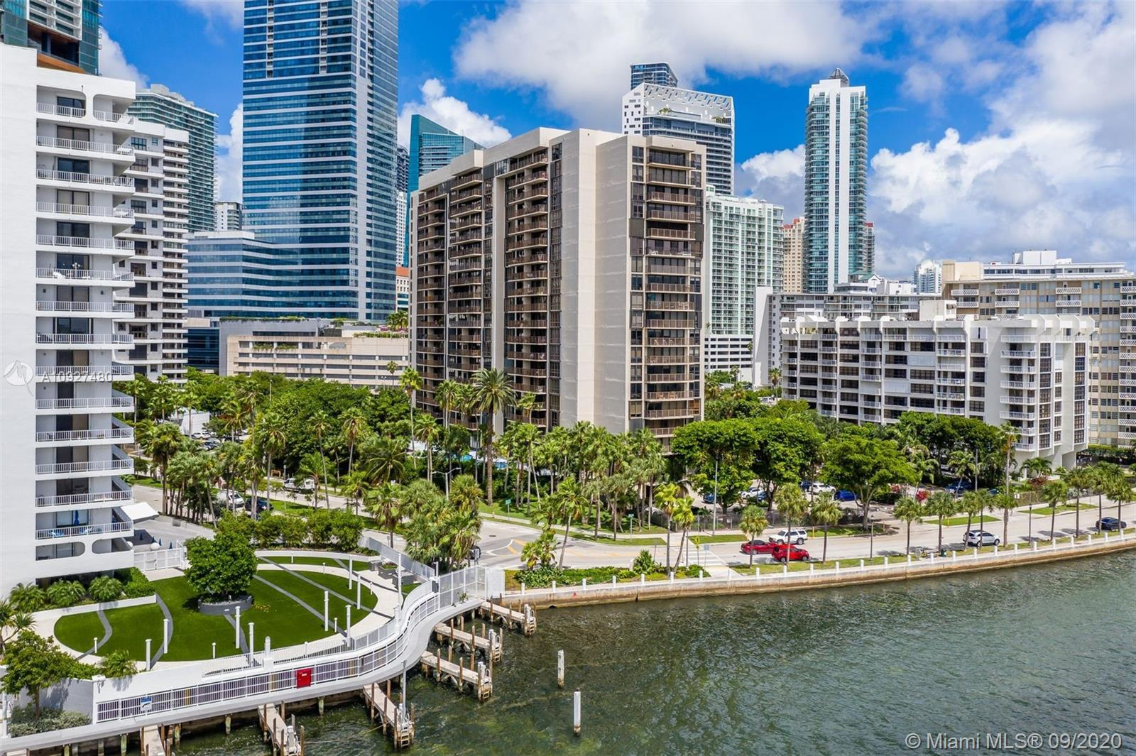 Live in Brickell without the major traffic.  This unit is at the edge of the action which allows eas