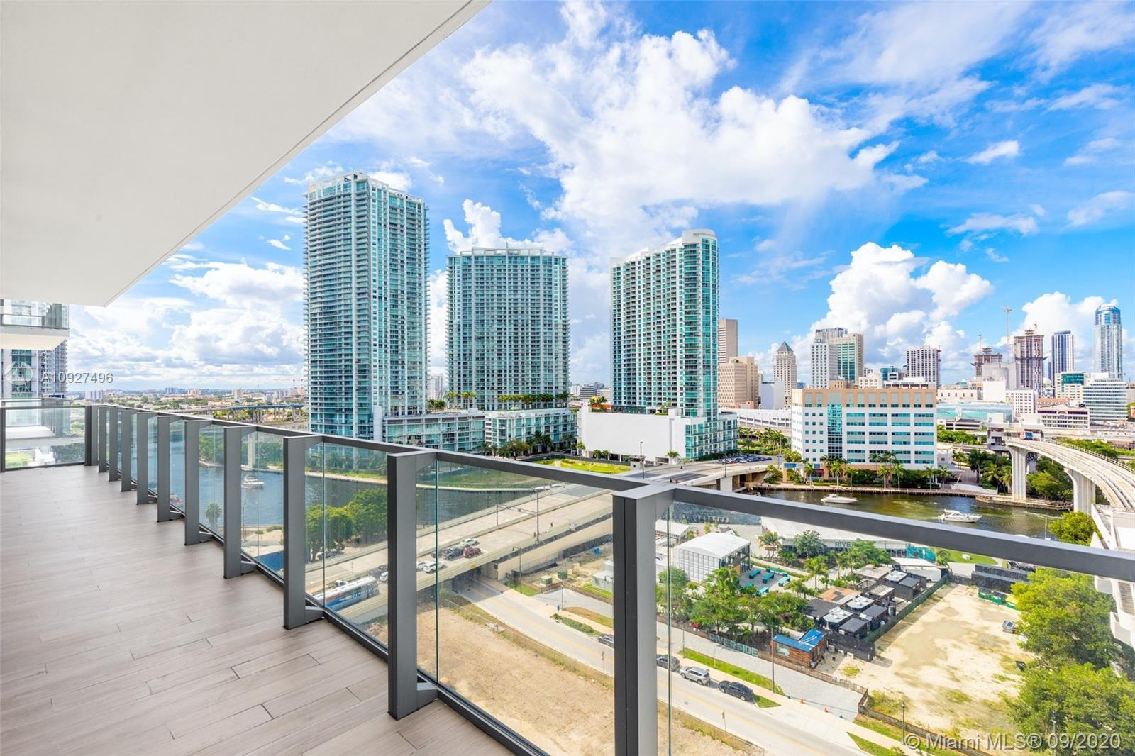 One of the Best Deals at Brickell City Centre! Spacious 2 Bed 2.5 Bath Corner Unit featuring 1,265 S