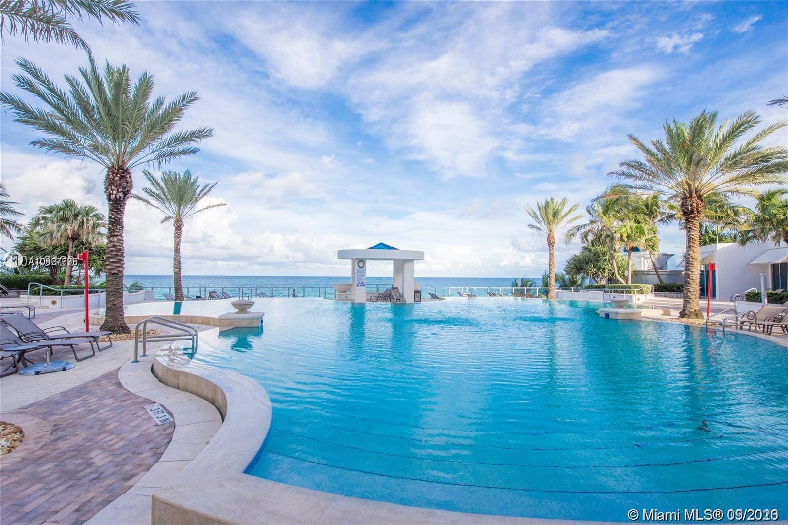 Exclusive Ocean Front Building! Ocean Views Furnished 3 Bedrooms/3,5 Bathrooms Private Elevators To