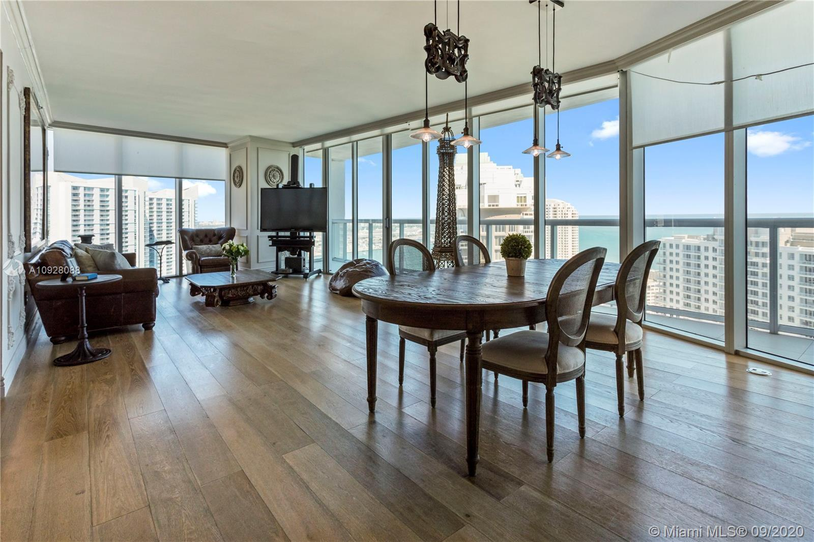 This highly upgraded 3/2.5 unit in the hip and luxurious Icon Brickell T1 designed by Philippe Stark