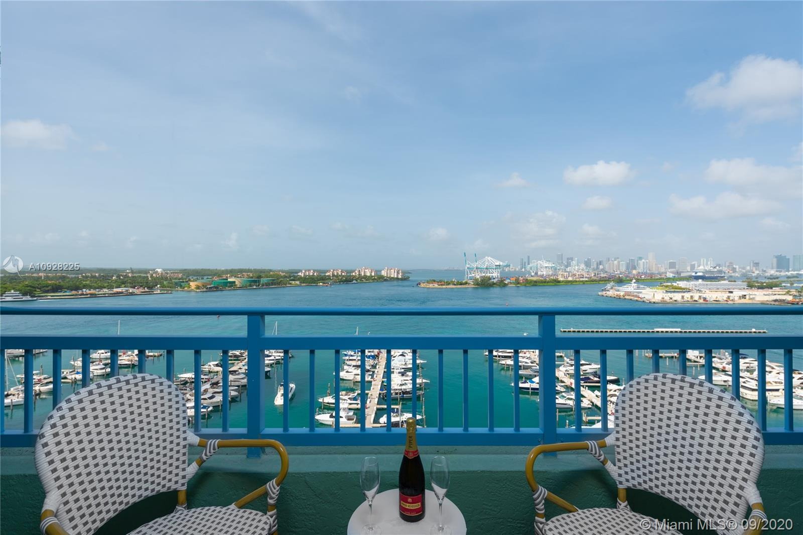 The Yacht Club @ Portofino. Perfectly situated in the most desired Miami Beach neighborhood: South o