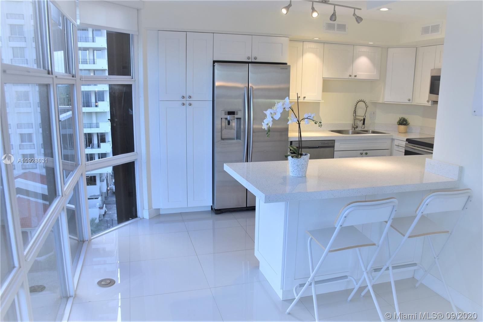 Ocean Front ,lots of light ,Very elegant Renovated large& spacious  1 bed plus den 1,503 Sqf  with 2