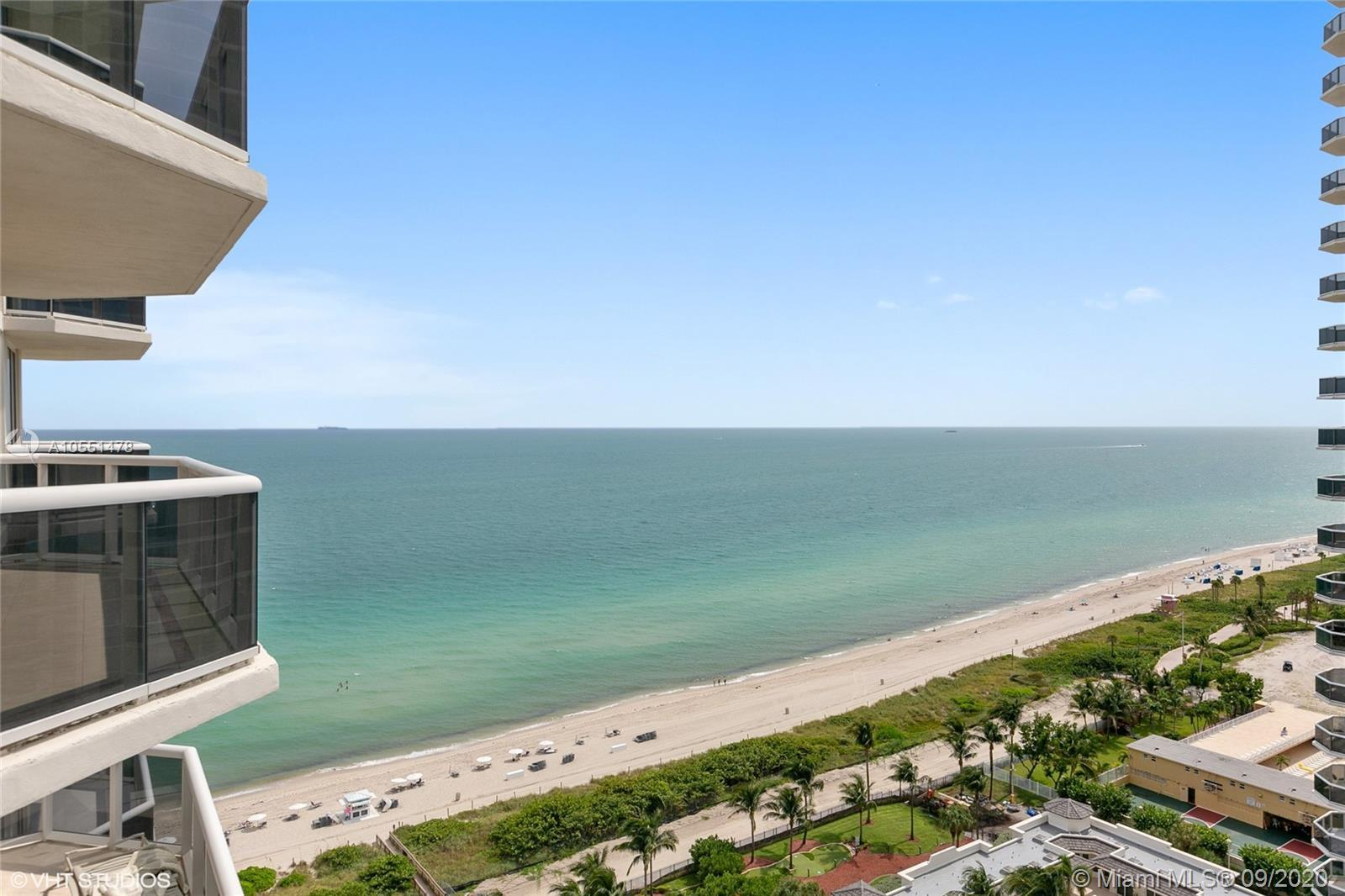 Magnificent Ocean and City views from this large 2 bedrooms, 2 full bath plus a den that was convert