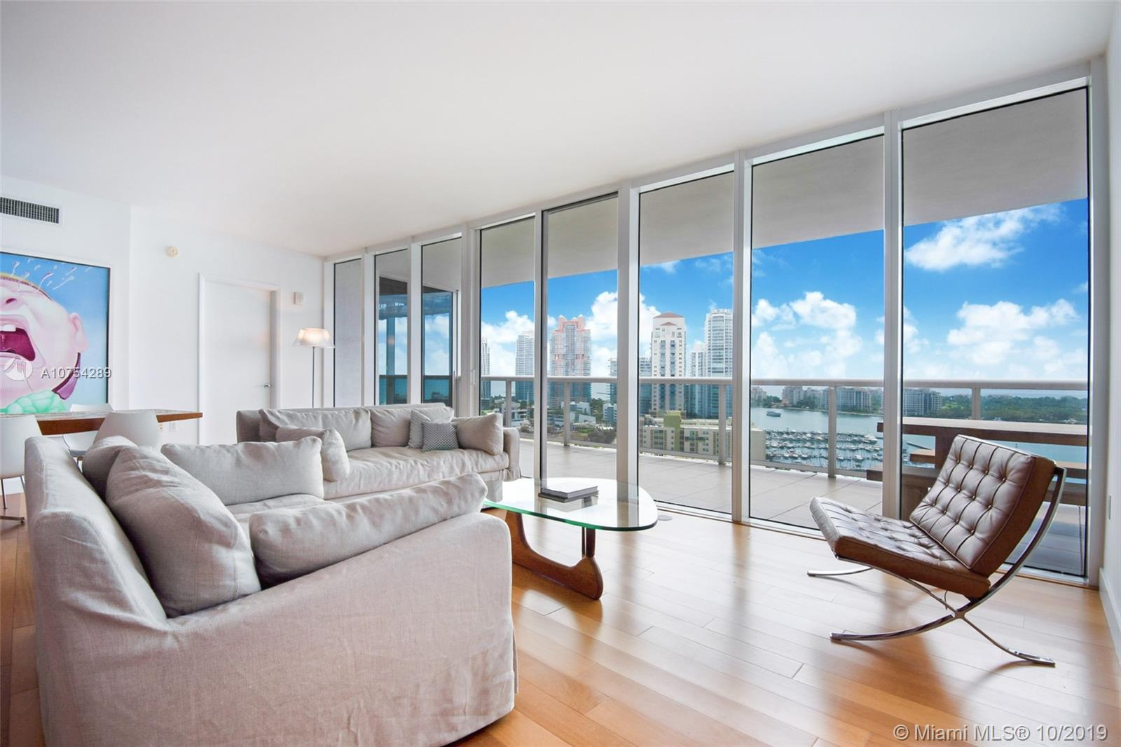 If water views are what you love, then this 2/2.5, 1600 sqft apartment at Murano Grande in South Bea
