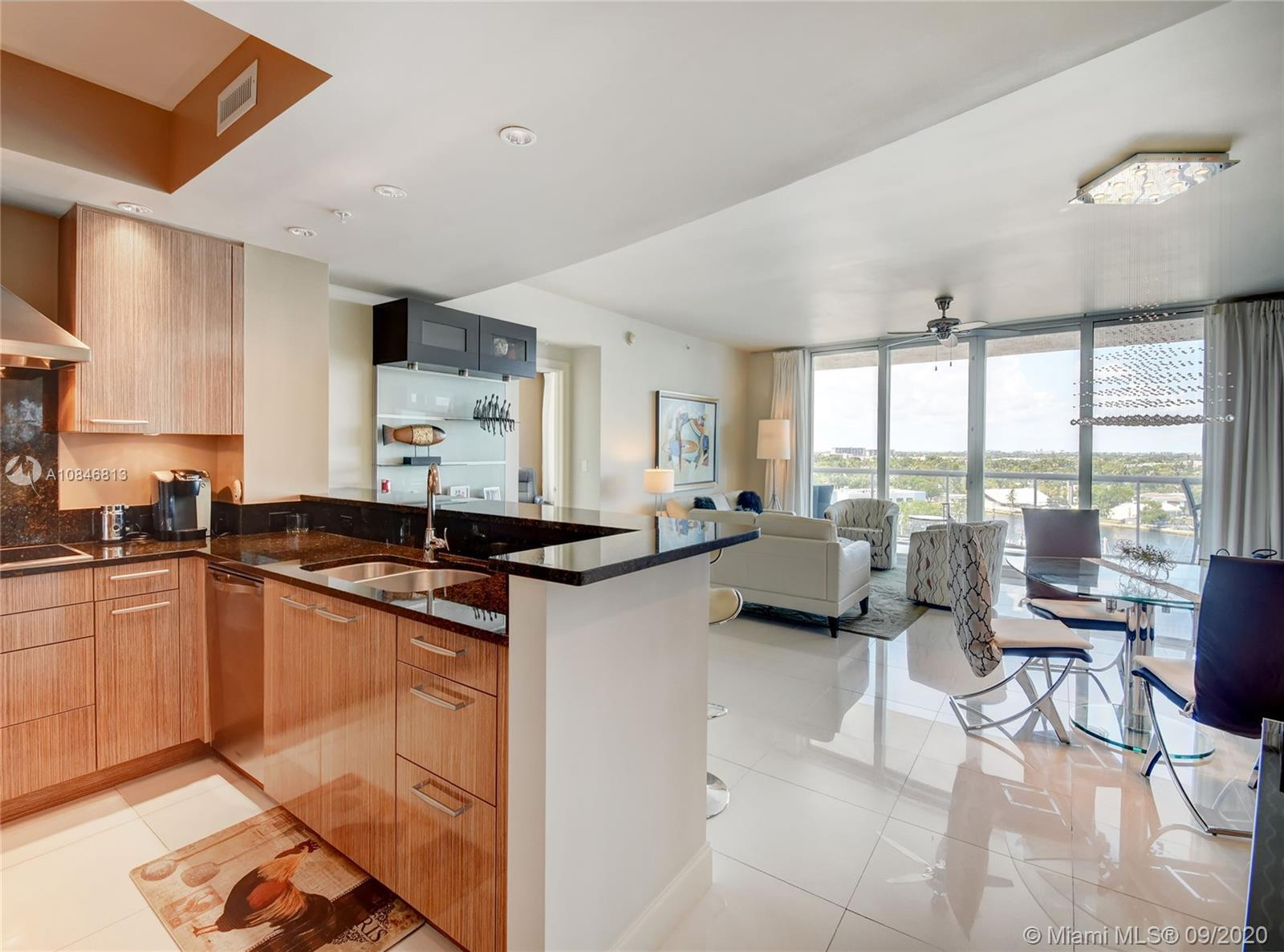 A luxurious condo with stunning Ocean, Intracoastal and City views. This sky residence is offered fu