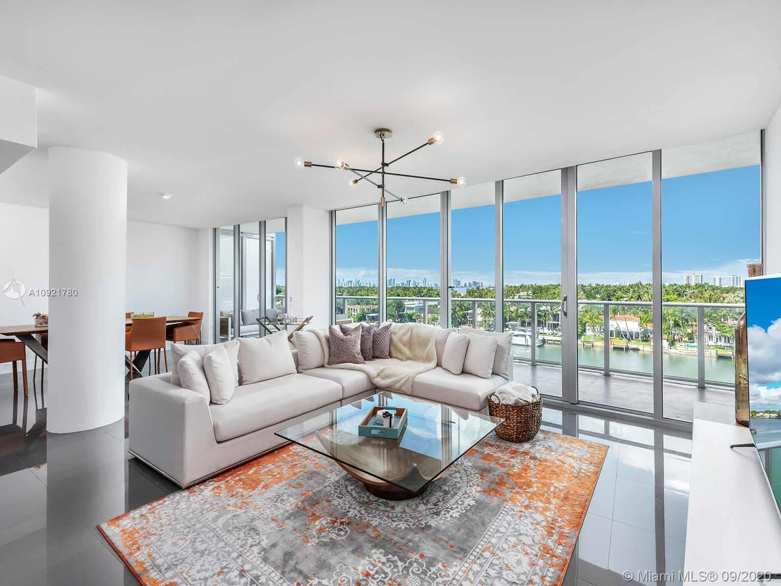 This serene penthouse, atop the recently completed Peloro Miami Beach, is an intimate home in North