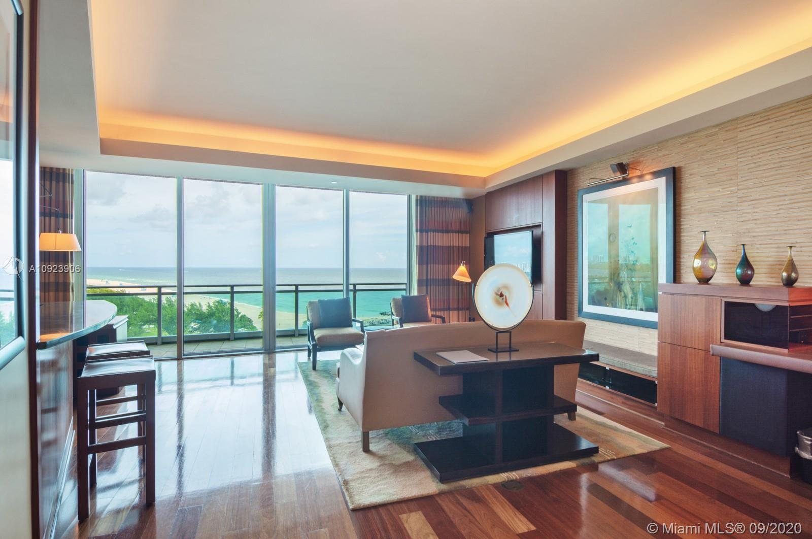 FULL ONE BEDROOM ONE & HALF BATH APARTMENT WITH DIRECT OCEAN VIEWS IN THE RITZ CARLTON BAL HARBOUR!