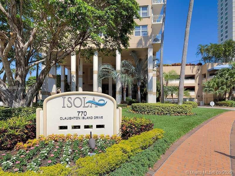Great Unit with ocean View at ISOLA CONDOMINIUM!! BEAUTIFUL 2 Bedroom, 2 baths, MARBLE FLOORS, FURNI
