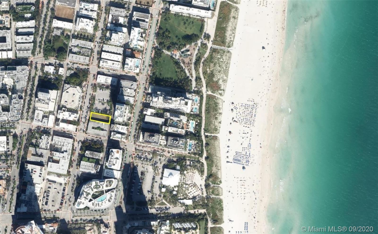 In the heart of South Beach, Miami Beach, located at 121 Collins Avenue just north of 1st street. Th