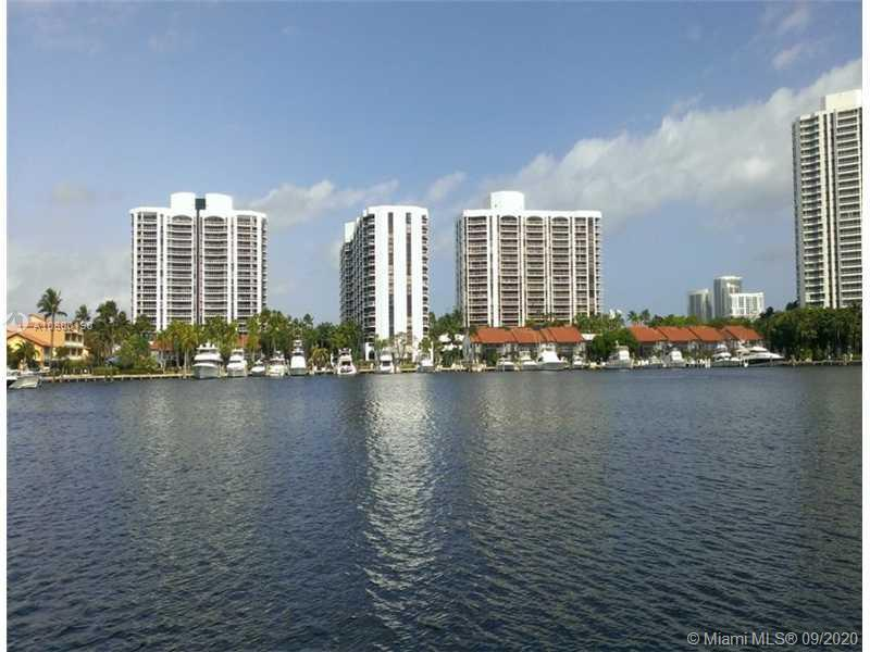 BEAUTIFUL 3 BR. 2 BA CORNER UNIT, HIGH FLOOR. MOST DESIRABLE LINE OF HARBOR TOWERS; MARINA AND WATER