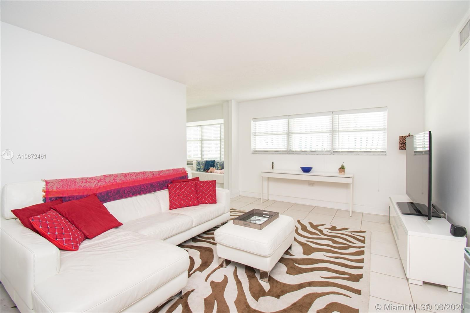 Chic and modern 2-bedroom/2-bath condo located in prime South Beach neighborhood that's steps away f