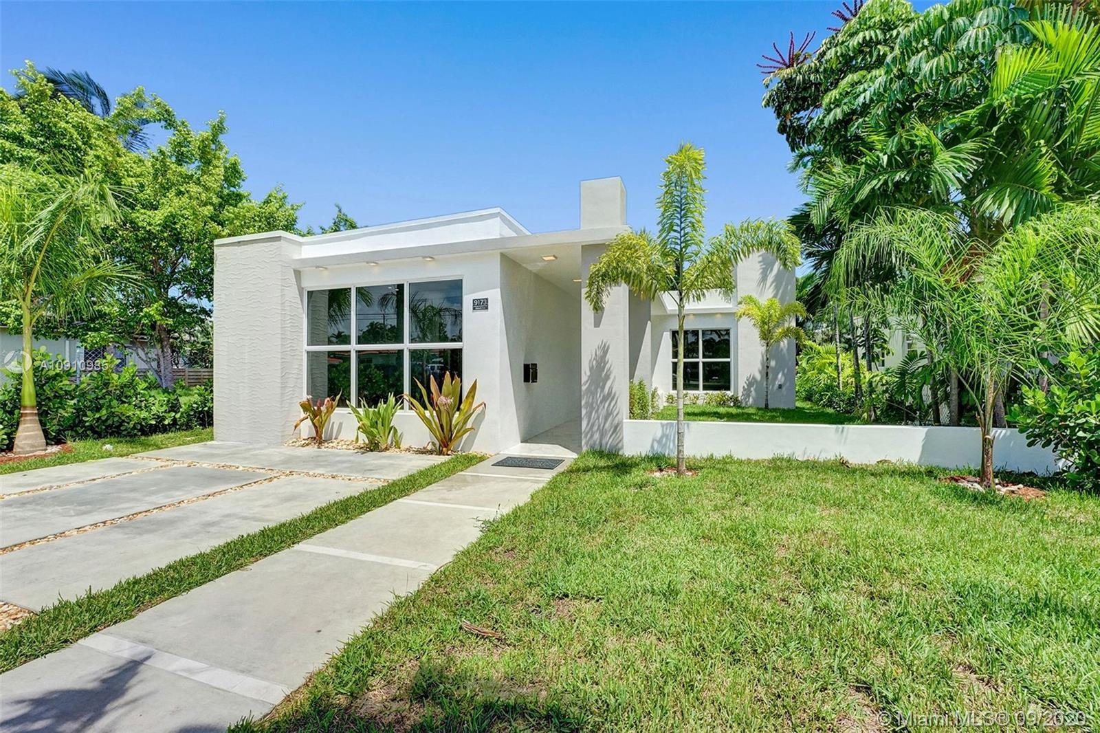 2100 sq. ft.!!!!! Beautifully remodeled house in Surfside!!! 3 bedrooms, 3 bathrooms, master with wa