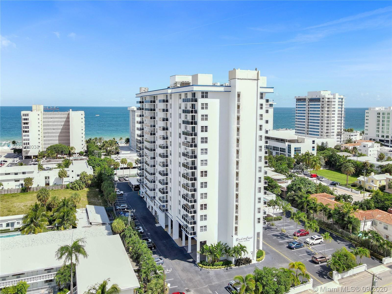 Furnished 1 bed/1.5 baths condo ready to welcome you to luxurious beach style living in a prime beac