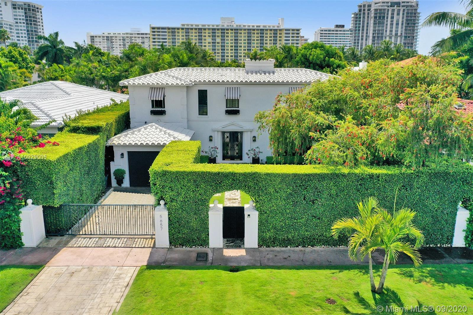 A RARE opportunity for discriminating buyers, this exclusive LaGorce Dr. property welcomes you w/a c