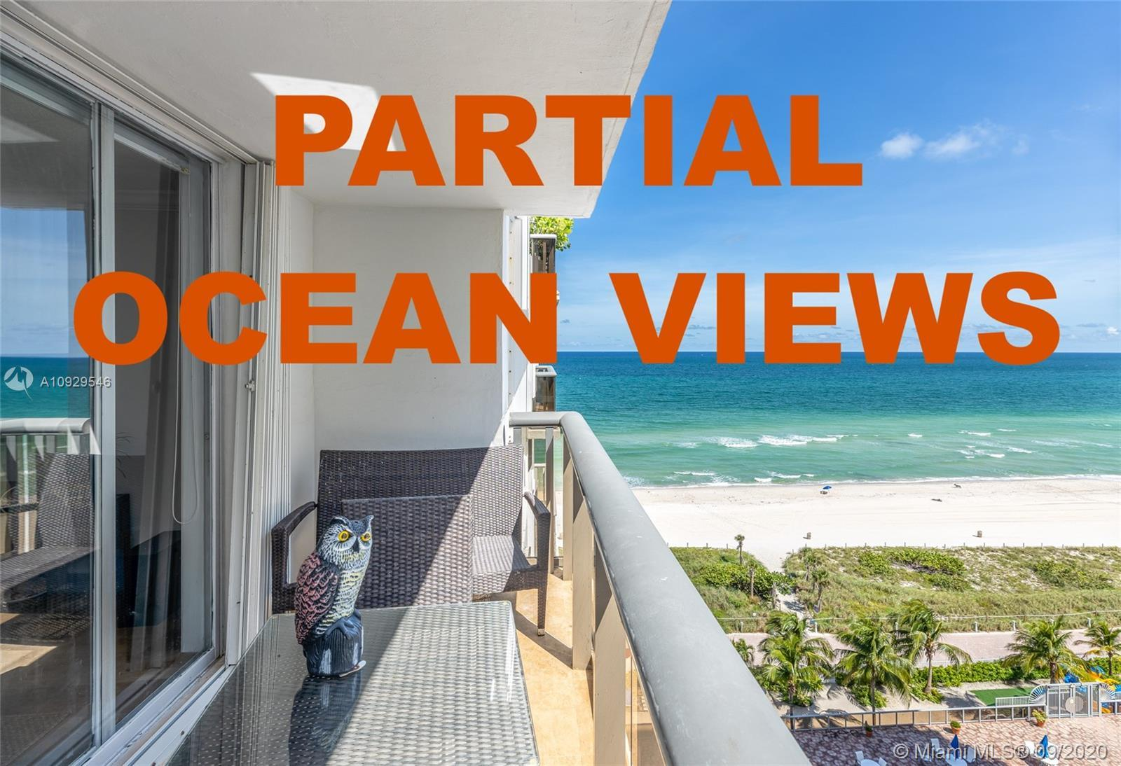 Amazing ocean views from this beautiful and turnkey 2 bedrooms unit!!! Featuring designed kitchen an