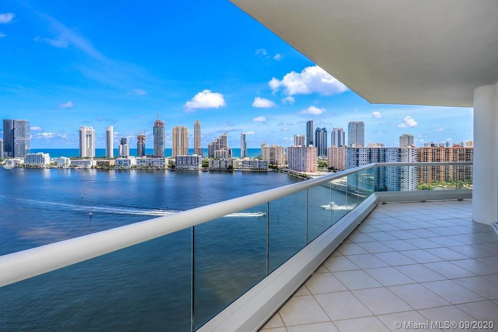 Best view of Aventura! Breathtaking spectacular intracoastal and ocean views, with a huge balcony! 3