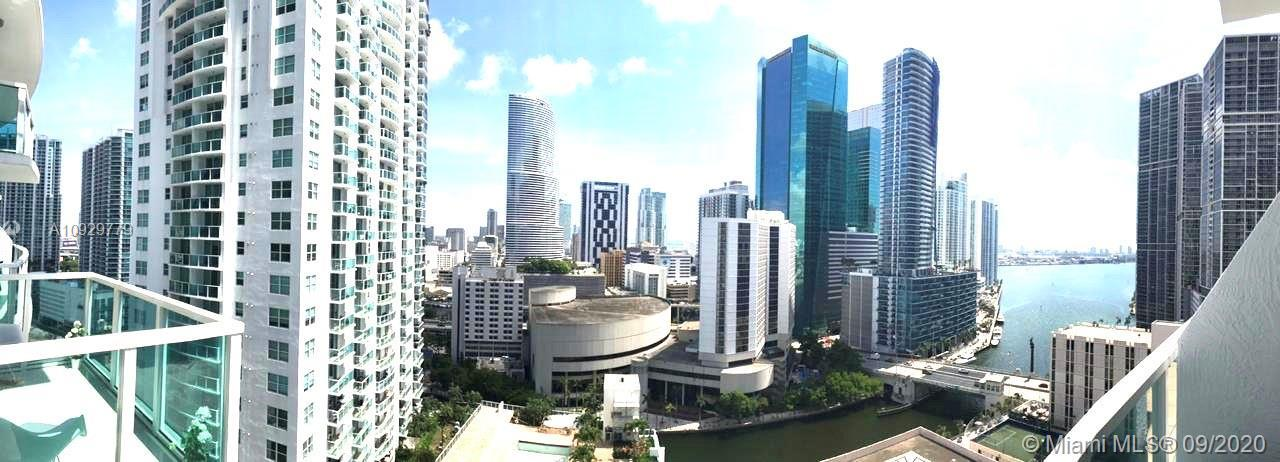 BRICKELL ON THE RIVER CONDO is located in the heart of Miami , Two-story loft with great views of th