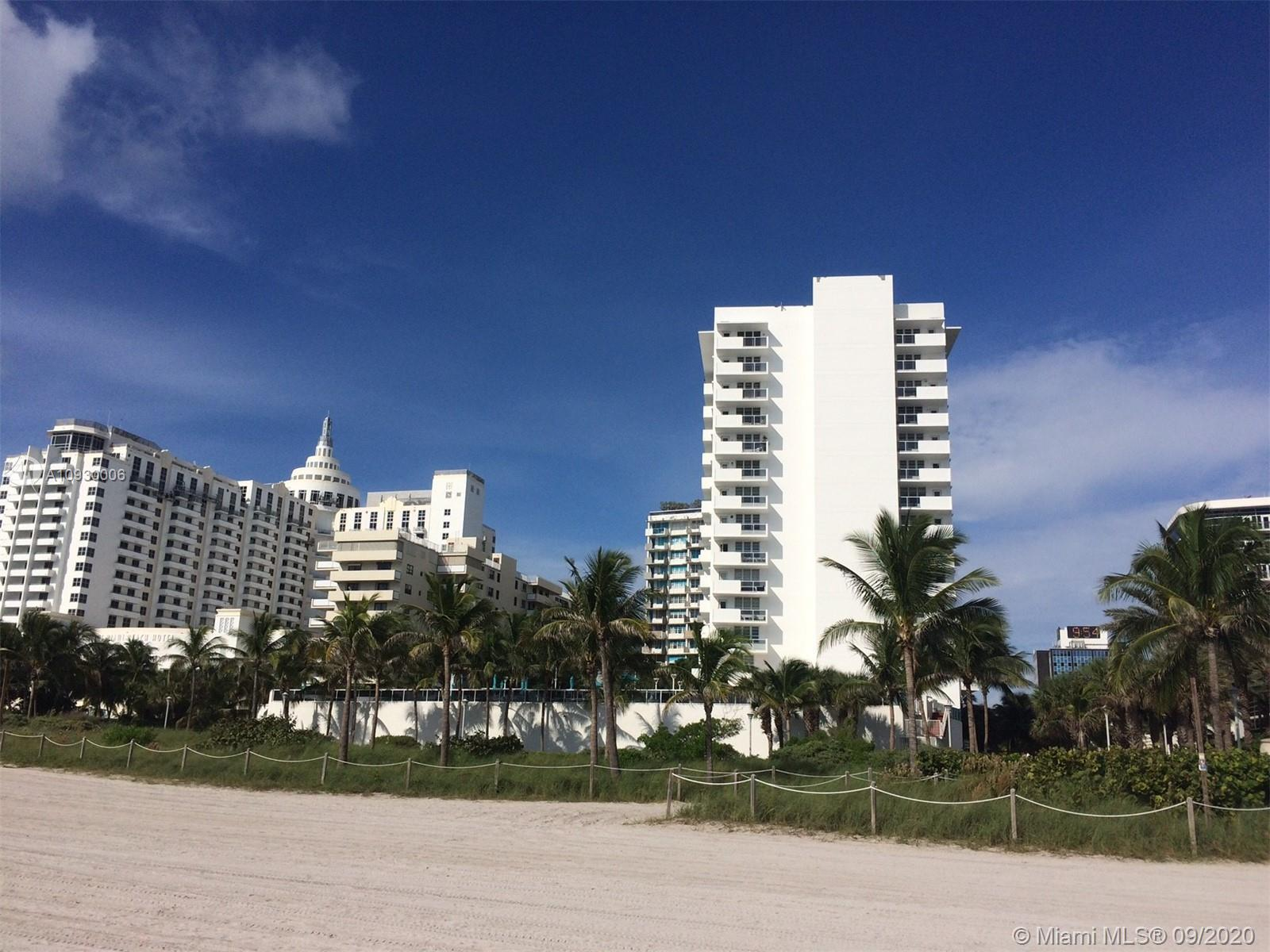 Excellent opportunity to own a rare cozy 2 bedrooms, 1 bath. Direct beach access building, heated ol